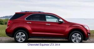 Chevrolet Equinox LTZ 2014_